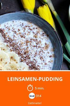Leinsamen-Pudding - smarter - Kalorien: 314 Kcal - Zeit: 5 Min. | eatsmarter.de