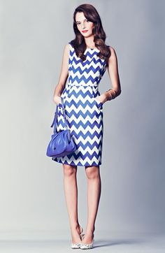 kate spade new york sheath dress & accessories  available at #Nordstrom. Love this dress!