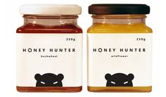 Honey Hunter... really awesome labels!