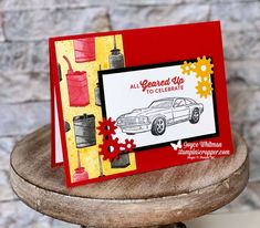 49 ideas birthday card for dad from kids stamp sets Birthday Greetings For Kids, Dad Birthday Card, Birthday Cards For Boys, Masculine Birthday Cards, Birthday Crafts, Masculine Cards, Guy Birthday, Birthday Wishes, Boy Cards