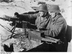 Old men of the Volkssturmm prepare to meet the Red Army.