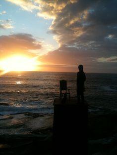 Sculpture by the Sea Bondi Sydney Sea Sculpture, Sydney, Celestial, Sunset, Photography, Outdoor, Outdoors, Photograph, Photo Shoot