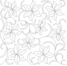 computerized digitized quilting patterns for a longarm quilting machine Border Embroidery Designs, Floral Embroidery Patterns, Hand Embroidery Patterns, Quilting Designs, Embroidery Stitches, Quilt Patterns, Thread Painting, Fabric Painting, Long Arm Quilting Machine