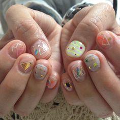 Trendy ideas for nails short ideas art designs How To Do Nails, Fun Nails, Pretty Nails, Minimalist Nails, Cute Nail Art, Super Nails, Fabulous Nails, Stylish Nails, Nails Inspiration
