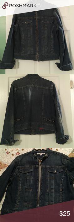 Tommy Hilfiger jean jacket. Tommy Hilfiger Jean jacket great condition! Tommy Hilfiger Jackets & Coats Jean Jackets