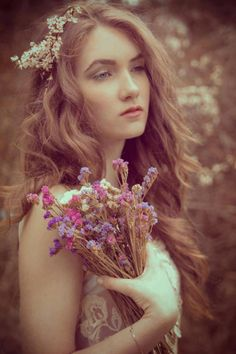 bohemian, flower child photography