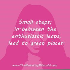 Ahhh... it's those little steps that get ya' sometimes! Keep going my Friends!  ;)