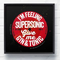 'SUPERSONIC' Oasis LP, Where would you hang this? http://keep.com/supersonic-oasis-lp-by-thelostlanes/k/0fl8LUgBHe/