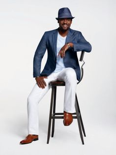 Blair Underwood's BU Collection, sold exclusively at K&G Fashion Superstore, now offers even more fa ...