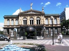 National Theater of Costa Rica in downtown San Jose
