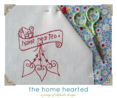 This month kicks off the second year of The Stitchery Club and I've themed all six patterns around my love for 'home'... ...