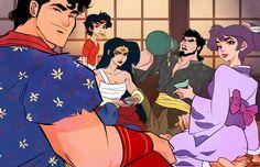 Awesome DC Superheroes Reimagined as Samurai Warriors — GeekTyrant