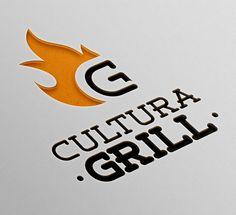 Logo Desing, Food Logo Design, Logo Food, Brand Identity Design, Menu Design, Branding Design, Restaurant Logo Design, Grill Restaurant, Logo Inspiration