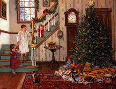"""""""Christmas Morning"""" by Lee Stroncek"""