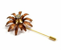 Chanchala - Steampunk Flower Pin