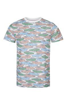 Cadillac Print T-Shirt