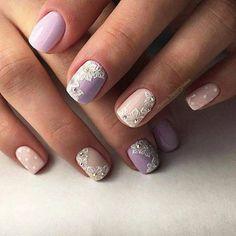 Маникюр   Дизайн ногтей 2017 Manicure And Pedicure, Gel Nails, Acrylic Gel, Flower Nail Art, Nagel Gel, Beautiful Nail Designs, Nail Artist, Cute Nails, Pretty Nails