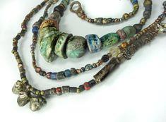 Artisan Necklace/Bracelet Talisman Grigri amulet by greybirdstudio, £175.00