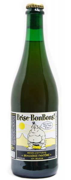 Cerveja Fantôme Brise-BonBons!, estilo Saison / Farmhouse, produzida por Fantôme, Bélgica. 8% ABV de álcool.