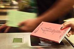 ¿Libros que funcionan como tickets de metro? Ticket Books