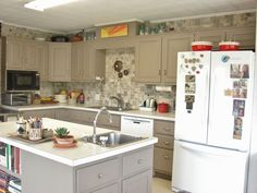 This kitchen remodel looks professional, but did NOT cost $20K!