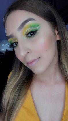 Tutorial en mi canal de youtube 💚💛 Septum Ring, Jewelry, Colorful Makeup, Jewlery, Jewels, Jewerly, Jewelery, Accessories