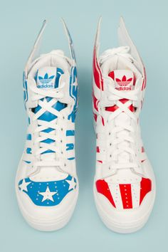 I think I just died... Stars and Stripes sneakers from Adidas. (real or not real?)