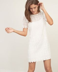 Abercrombie & Fitch- 1892 Heritage Collection: Lace Shift Dress