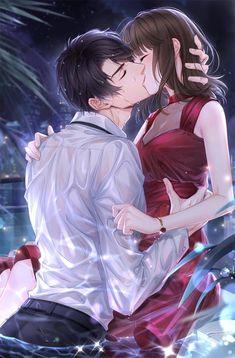 Hi, My Adorable Sweet Wife - Best romance novels to free read on - Romantic Anime Couples, Romantic Manga, Anime Couples Drawings, Anime Couples Manga, Anime Cupples, Kawaii Anime, Anime Guys, Manga Girl, Anime Art Girl