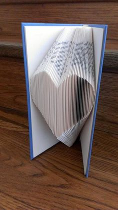 Heart Book folding Pattern