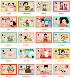 Japanese Alphabet Primer by Madame MO