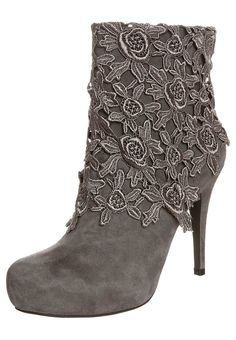 suede and lace boots