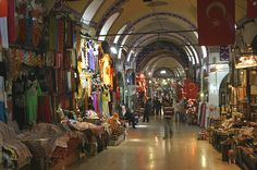 Grand Bazaar (Kapali Çarsi, or Covered Market), Istanbul by exfordy.