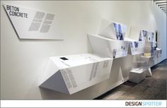 From Hans Sachs (Germany): Exhibition Design for 'Architectural Particles'