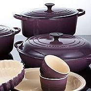 I'm so excited...Le Creuset dark purple
