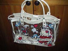 Have it, love it- Hello Kitty tattoo purse