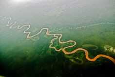 Virunga National Park in Congo, Africa