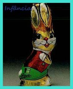 Coelho de Chocolate #nostalgia