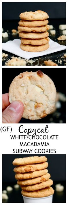 Copycat Subway White Chocolate Macadamia Cookies- Chewy, chock full of the good stuff AND better than the original!
