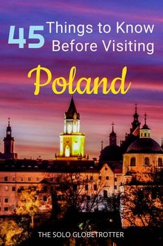 45 Mind Blowing Facts About Poland - Things You Need To Know! Voyage Europe, Europe Travel Guide, Travel Guides, Travel Destinations, Budget Travel, European Destination, European Travel, European History, Glamping