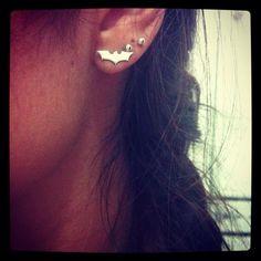 My #batman earring =)