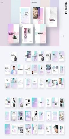 BRONX Light Instagram Stories Pack FREE
