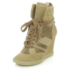 How to Wear Wedge Sneakers - DIANI Style Blog | Diani Boutique via Polyvore