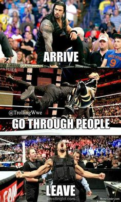 Meet the new face of the wwe Wrestling Superstars, Wrestling Wwe, Wrestling Quotes, Dean Ambrose, Fc Barcalona, Wwe Funny, Funny Memes, Jokes, Roman Regins