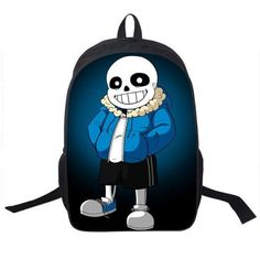 77781bb434 Hot Game Undertale Children Book Bag Cartoon School Bags for Teenagers  Women Men Travel Backpacks Daily Mochilas