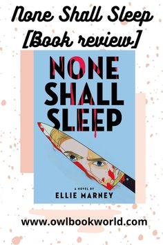 None Shall Sleep by Ellie Marney follows two teenagers who are asked to interview teenage serial killers because the police couldn't get anything out of them. But can these two teens get anything out of them before someone else is killed?