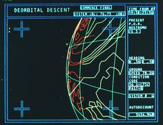"""Equatorial orbit nailed"": the story behind the computer animations of 'Alien'. This is such a great read, nice information on the origins of the screen graphics used in Alien. Alien 1979, Cyberpunk, Pet Sematary, Computer Animation, Computer Art, Vaporwave, Interface Design, User Interface, 80s Sci Fi"