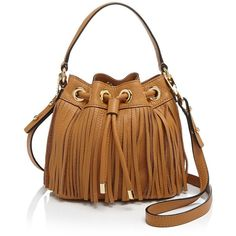 Milly Crossbody - Essex Fringe Small Drawstring (370 CAD) ❤ liked on Polyvore featuring bags, handbags, shoulder bags, purses, fringe purse crossbody, handbags crossbody, crossbody purse, fringe crossbody and man bag