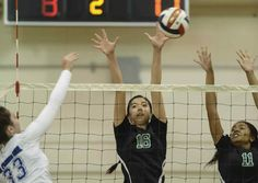 Granada Hills volleyball uses positive energy to sweep El Camino Real