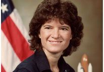 Image: File photo of Sally Ride in 1984 (© NASA/Time & Life Pictures/Getty Images)